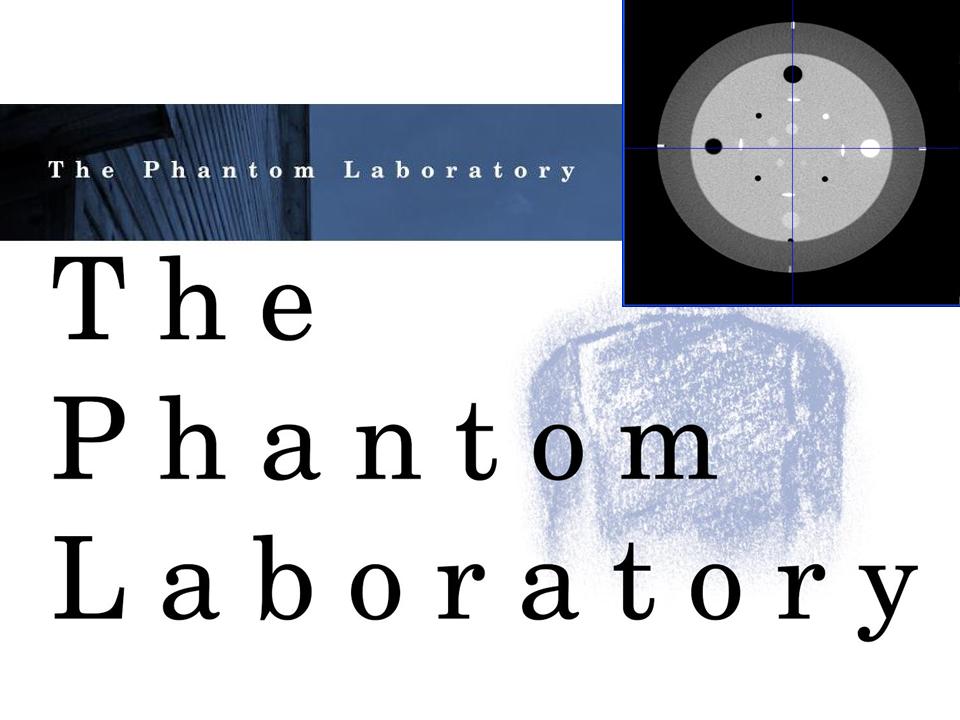 Fantomas para control de calidad en equipos de imagenologia medica