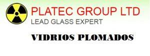 Vidrios plomados con certificados de CCHEN y de nuestra fabrica en China