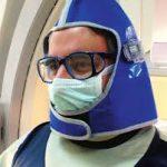 cuello y lente plomado proteccion radiologica